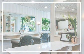 Hair salon Brisbane, EH Hair & Extensions, interior
