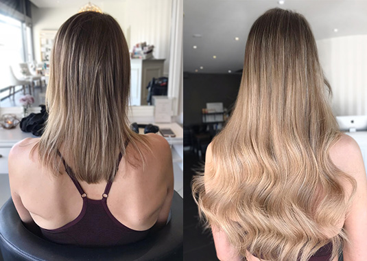 01 VolumePackageRussianInvisiTape | Emilly Hadrill: Hair Extensions in Gold Coast, Brisbane, Melbourne & Sydney | 1