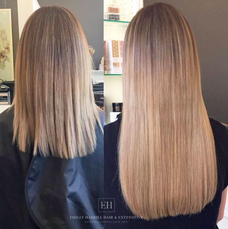 hair extensions Gold Coast - EH Hair & Extensions