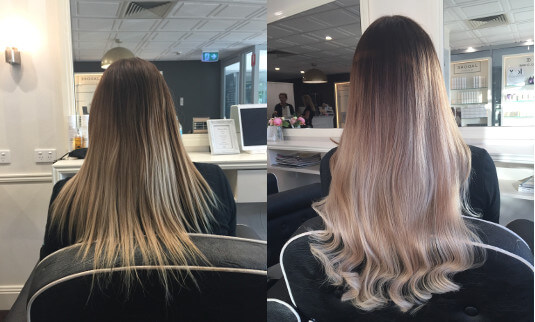 tape hair extensions - full head russian skin weft - EH hair & Extensions Gold Coast