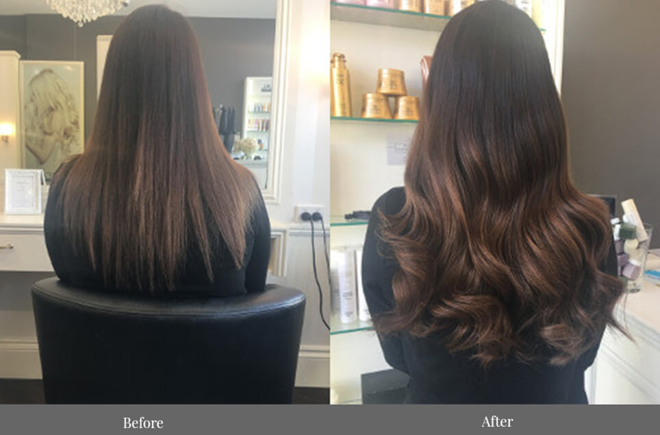 tape hair extensions - skin weft