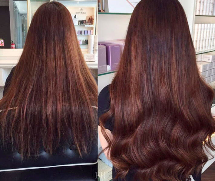 natural hair extensions by EH Hair Extensions