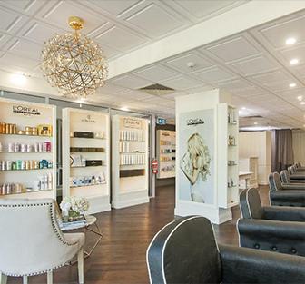 Brisbane hair salon interior, EH Hair & Extensions