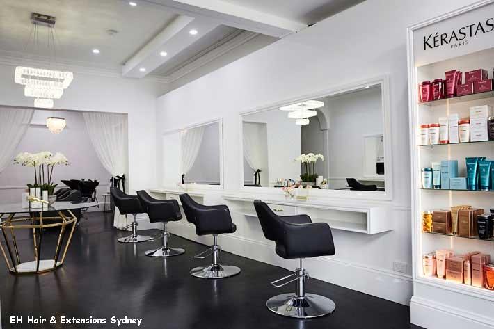 EH Hair Extensions salon in Sydney