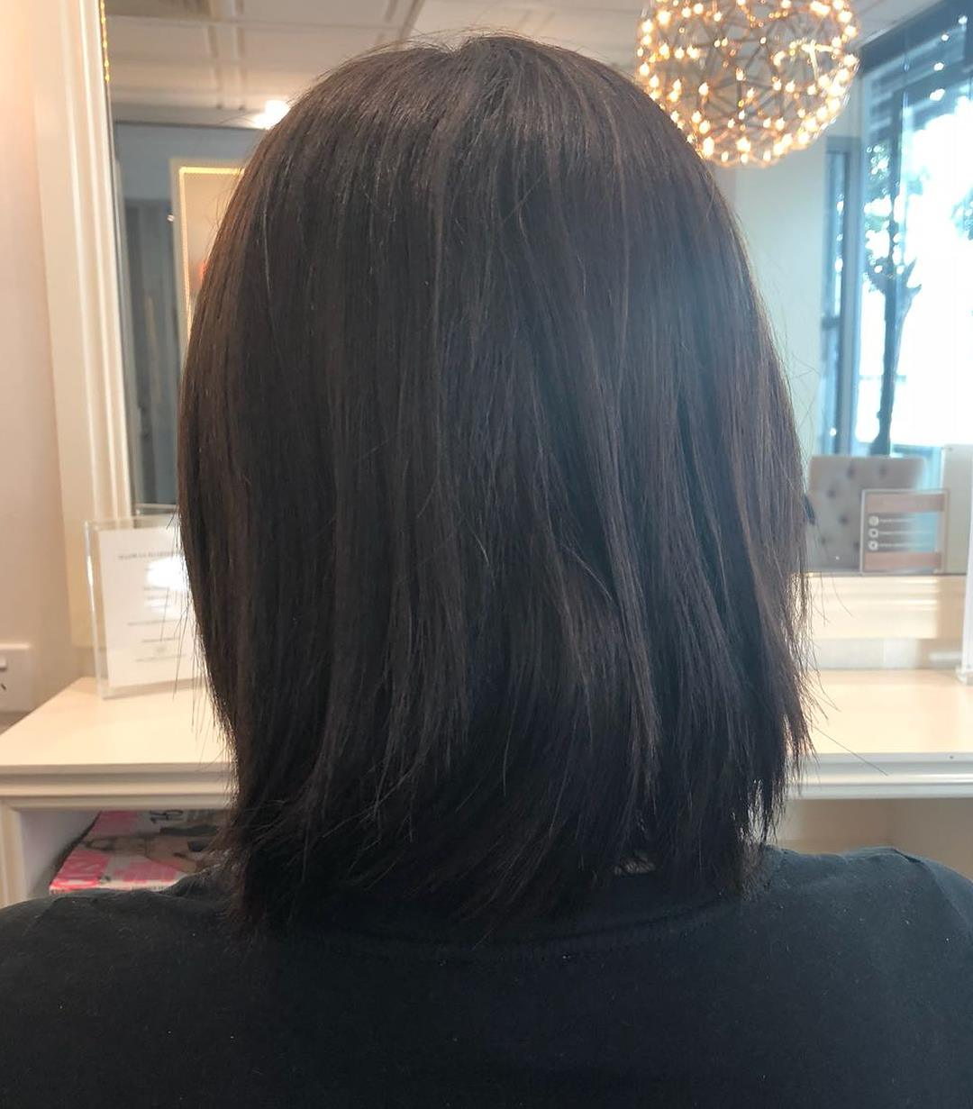 Hair Extensions for Short Hair - EH Hair - before image