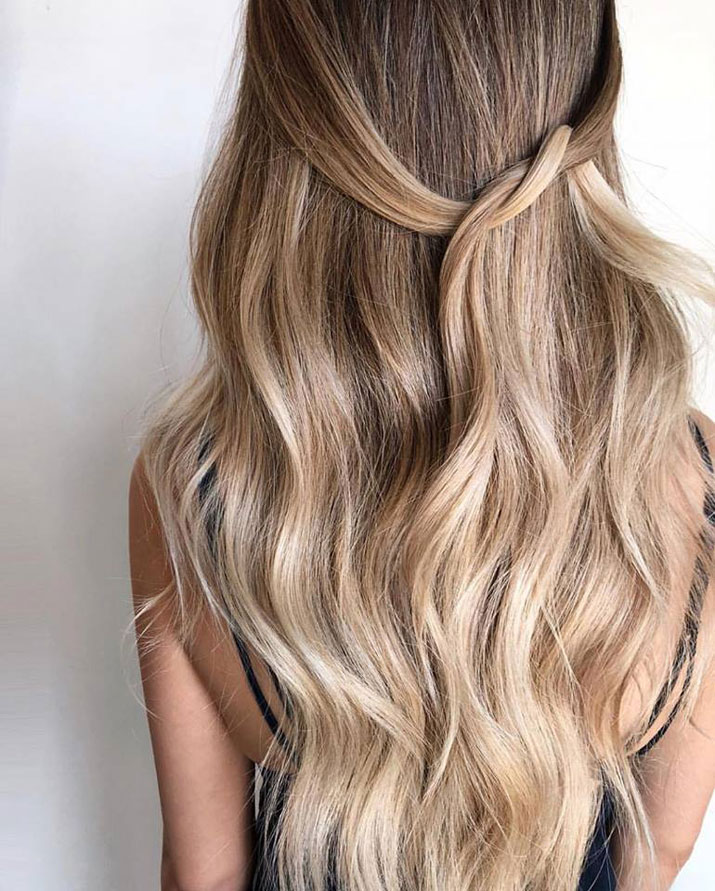real human hair extensions - styling tips