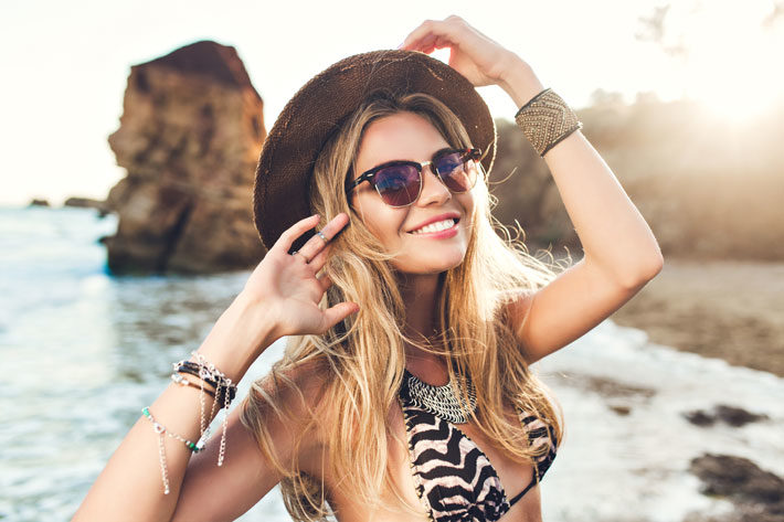 hair extensions sun protection