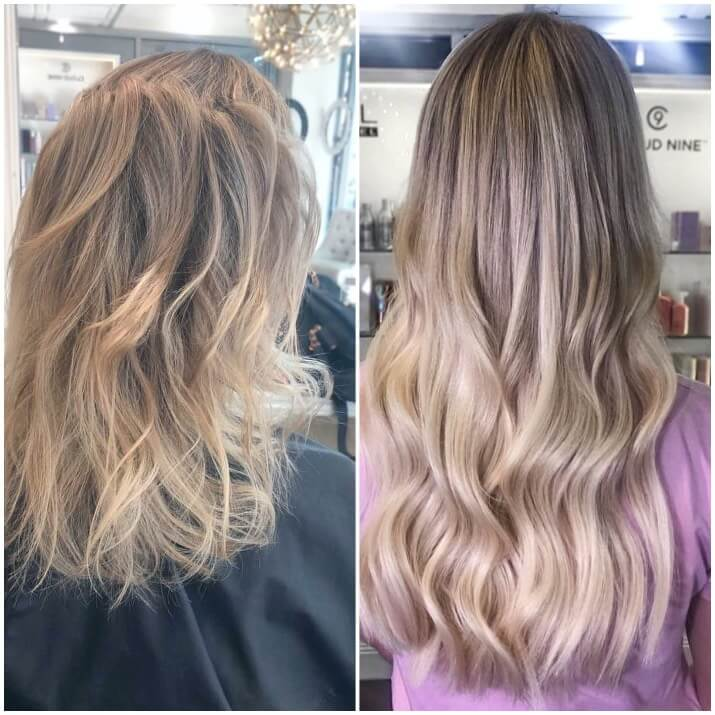 EH hair extensions before and after 001