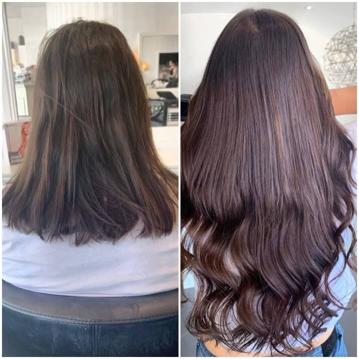 EH hair extensions before and after 002