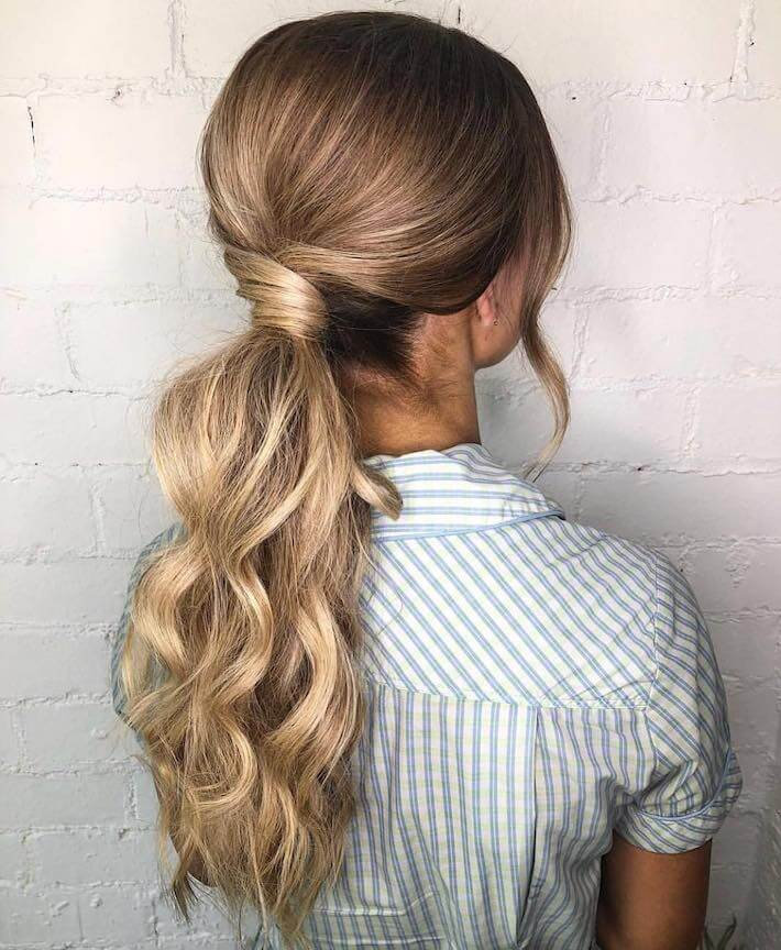 Ombre ponytail hair 02, EH hair & Extensions