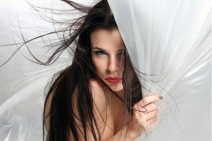 EH Hair, static hair model 01